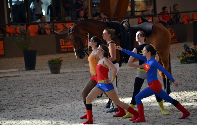 La Voltige des Super Héros