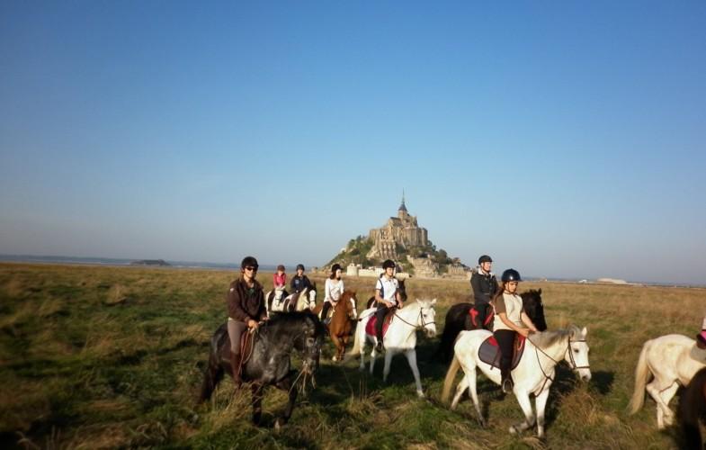 Balade au Mont Saint Michel