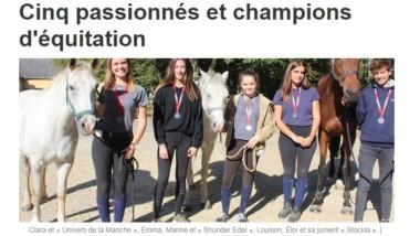 Nos cavaliers de concours dans le Ouest France