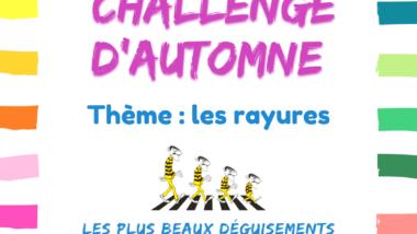 Challenge le 21 novembre : inscriptions