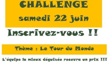 Dernier challenge samedi 22 juin ! Inscription